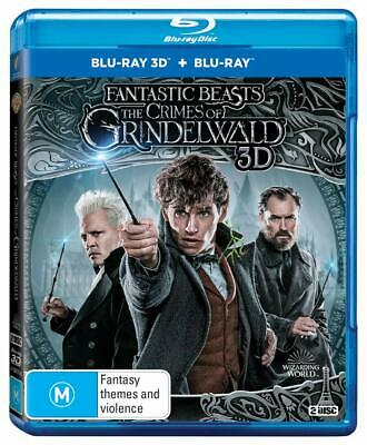 FANTASTIC BEASTS (2018) THE CRIMES OF GRINDELWALD: Harry Potter Au 3D + BLU-RAY