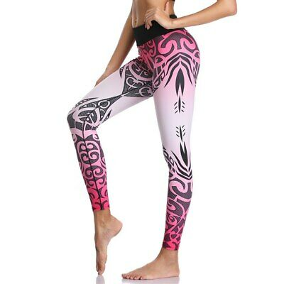 378| Legging Fitness Pantalon Femme Workout Yoga Pant Vêtement Sport Musculation