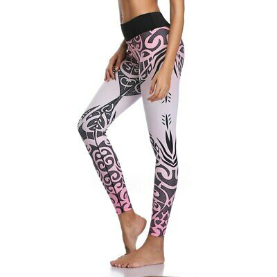 383| Legging Fitness Pantalon Femme Workout Yoga Pant Vêtement Sport Musculation