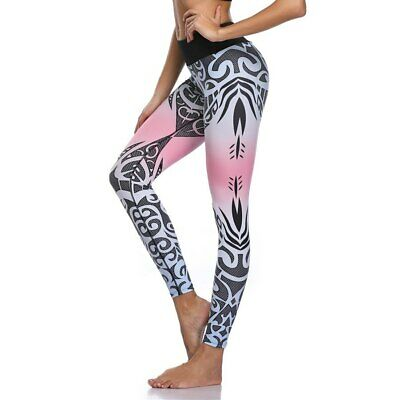 388| Legging Fitness Pantalon Femme Workout Yoga Pant Vêtement Sport Musculation