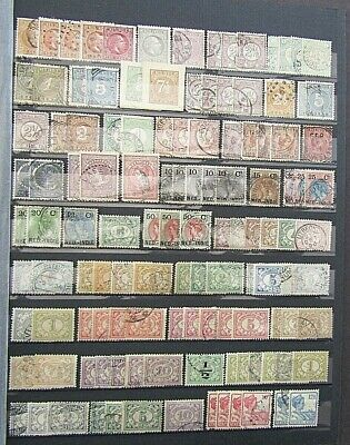 Netherland Indies - Collection Of Earlies On D/s Stocksheet - Chiefly Fine