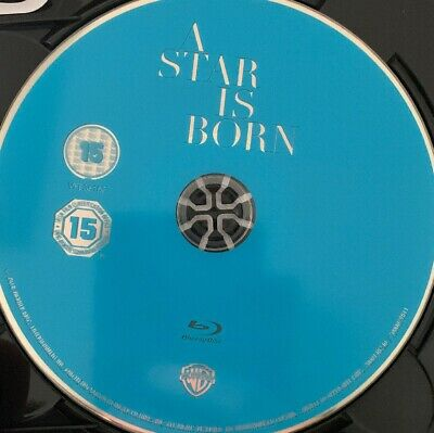 A STAR IS BORN (2018) BLU RAY MovieDisc only 1 day sale Free post