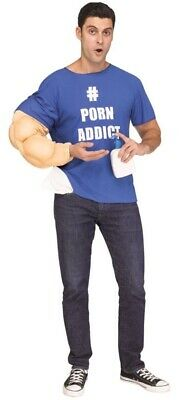 """Mens Rude """"One Arm Wayne"""" Stag Do Party Funny Comedy Fancy Dress Costume Outfit"""