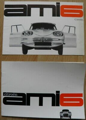 Citroên ami 6  brochures de vente catalogue 1961/1962