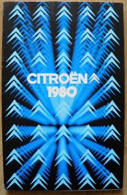 Citroên  1980 Document commercial