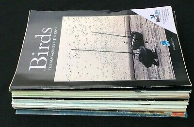 11 RSPB Birds Magazine 1990- 93 & 4 BTO  British Trust for Ornithology 2014/15