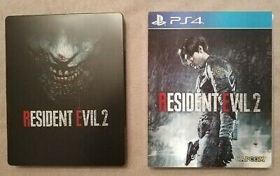 Resident Evil 2 Steelbook und Lenticular Sleeve PlayStation 4 PS4 Xbox One s