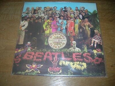 Lp The Beatles St Peppers Lonely Hearts Club  Pcs 7027 Uk 1967 Lp