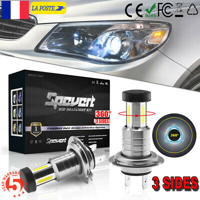 Ultra Bright H7 CREE 5050 LED Ampoule Voiture Feux Lampe Phare Kit 110W 6000K