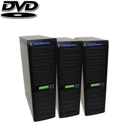 30 SATA Burner CD DVD Disc Daisy Chain Duplicator Copier Multi Standalone + HDD