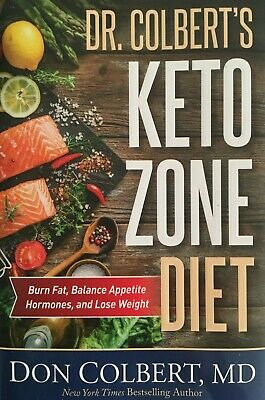 Keto Zone Diet by Dr. Colberts (hardcover)