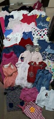 Huge Bundle Of Baby Girl Clothes 18-24months #715 ZARA NEXT GEORGE F&Fmany dress