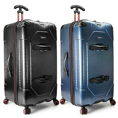 "Maxporter II 30"" Large Anti-Theft Polycarbonate Hardside Trunk Spinner Luggage"