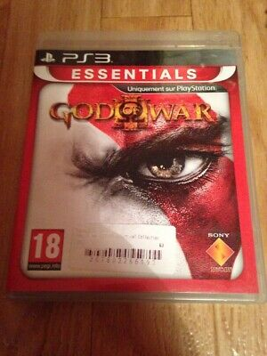 ×× JEU VIDEO PS3 PlayStation - GOD OF WAR 3 III ESSENTIAL COLLECTION - notice ××
