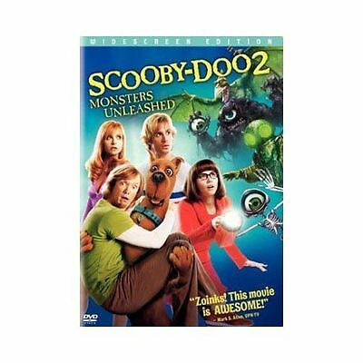 SCOOBY-DOO 2 Monsters Unleashed DVD Widescreen Edition Nice