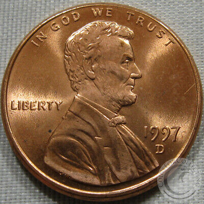 1997-D Unc Lincoln Memorial Penny Nice Coin **Make An Offer**