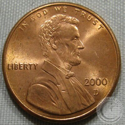 2000-D Unc Lincoln Memorial Penny Nice Coin **Make An Offer**