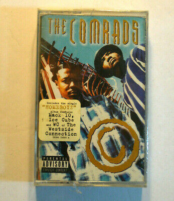Rare CASSETTE - THE COMRADS - S/T SEALED w/ HYPE STICKER 1997 Street Life