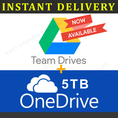 ⚡Google Drive Unlimited Lifetime To Your Account + OneDrive 5TB 365 (INSTANT)