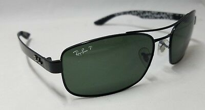5be2f44749 RAY BAN RB8316 002 N5 size 62-18-135 3P Black Polarized Sunglasses ...