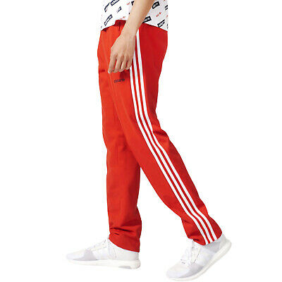 916a1c6e45ce adidas Originals Mens Block TP Tapered Casual Tracksuit Track Pants Bottoms  -Red