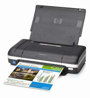 HP OfficeJet H470 Color Mobile Portable USB Printer New ink included Warranty
