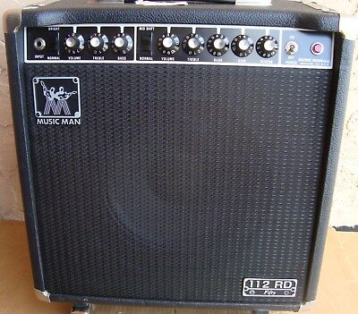 5Music Man Amp 112 RD 50 Amplifier / 1983 cleanest RD50 on Ebay - No Rust Amp