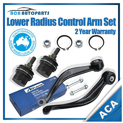 Pair Fits  Ford Territory SX SY Front Castor / Radius Arms w/ Ball Joints L&R