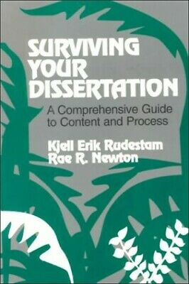 Surviving Your Dissertation: A Comprehensive Guid... by Newton, Rae R. Paperback
