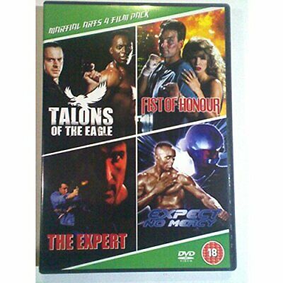 MARTIAL ARTS 4 FILM PACK - DVD  CNVG The Cheap Fast Free Post