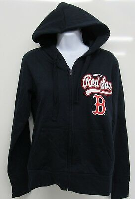 NEW MAJESTIC MLB Boston Red Sox White Zip Up Thermabase Pullover ... d3c95fd1c