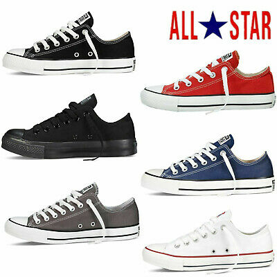 Men Women Chuck Taylor All Stars Low/High Top Canvas Trainer Shoes OX Sneaker