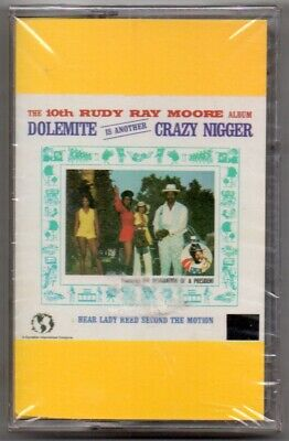 DOLEMITE Rudy Ray Moore SEALED Cassette Tape Funk Rap Comedy 1988 CIE Records