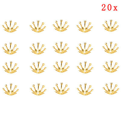 20pcs Filigree Flowers Bead Cap Connectors Charms For Jewelry Findings10mm FT