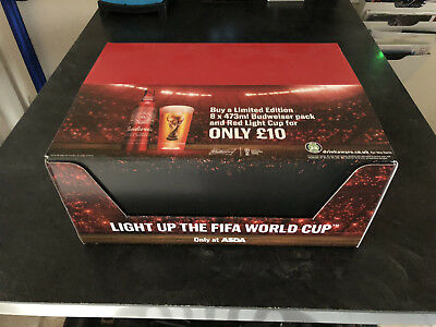 BUDWEISER Light up the World Cup Russia 2018 (Case of 12 new)