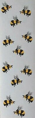 BEES BUMBLE 1989 Stickers .......Free Shipping Mrs Grossman ..