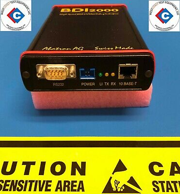 Abatron Bdi2000 High Speed Bdmjtag Debug Interface (Used)
