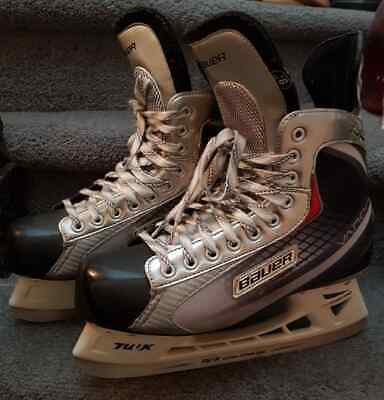 BAUER Vapor X 2.0  Mens US 11 Lightspeed Pro Hockey Ice Skates Tuuk