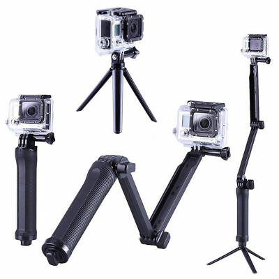 Portable GoPro 3 in 1 Monopod Tripod Pole Selfie Stick Fits GoPro Hero 7 6 5 4+