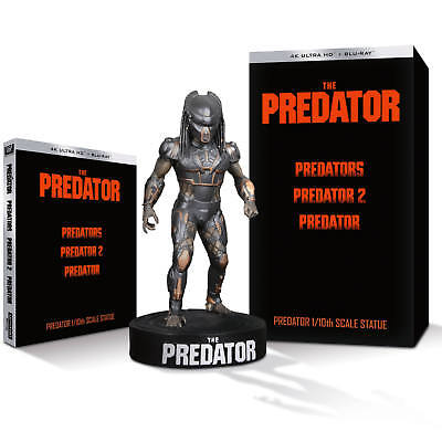 The Predator 8-Disc Collector's Edition (4K Ultra + blu-ray new )