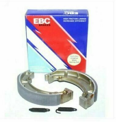 Vespa Px 125 150 200 Brake Shoes Ebc High Friction C/w Springs Front / Rear