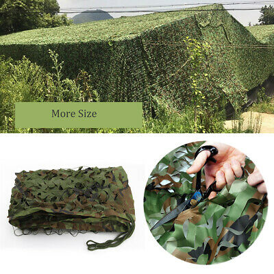 Oxford Fabric Camouflage Net/Camo Netting Hunting/Shooting Hide Army Large Sizes