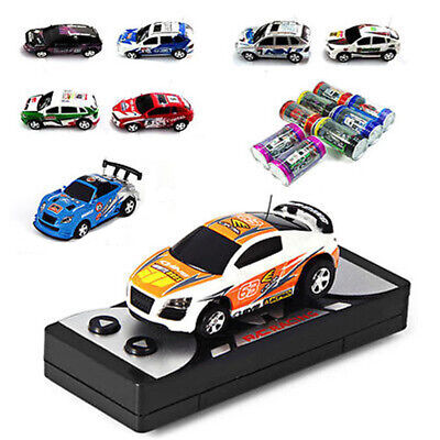 Multicolor Coke Can Mini Speed RC  Remote Control Micro Racing Car Toy Gifts hot