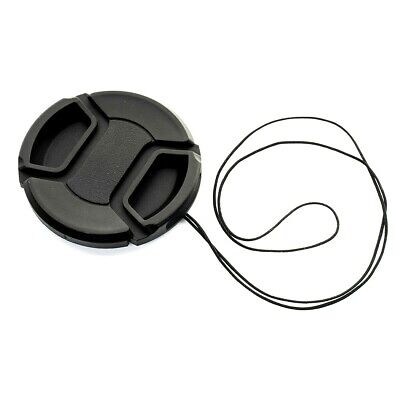 KOOD 77mm CENTRE PINCH GRIP STYLE LENS CAP COVER for 77mm + CORD (UK Stock) NEW