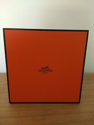Authentic Hermes watch presentation box- empty. Inc Hermes link remover tool