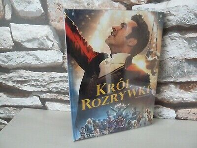 new/sealed : KROL ROZRYWKI (THE GREATEST SHOWMAN) POLISH VERSION DVD - REGION 2.