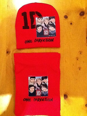 Brand New One Direction Beanie and Scarf