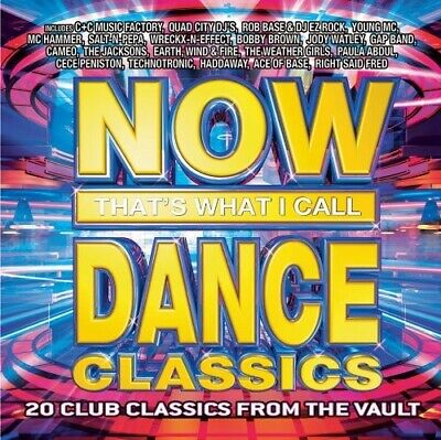 Various Artists - NOW That's What I Call Dance Classics CD NEW