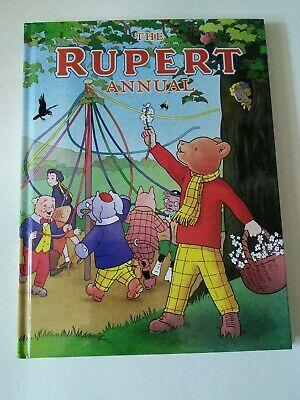 Official The Rupert Annual 2019, 7 Rupert the Bear Illustrated Stories Hardback