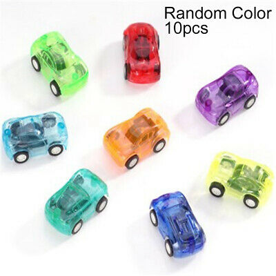 10Pcs Mini Car Toys Pull-Back Cars Speed Racing Vehicles Model Play Set for Kids